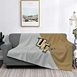 University of Central Florida Flannel Fleece Blanket Ultra Soft for All Season Adult Child Warm Camping