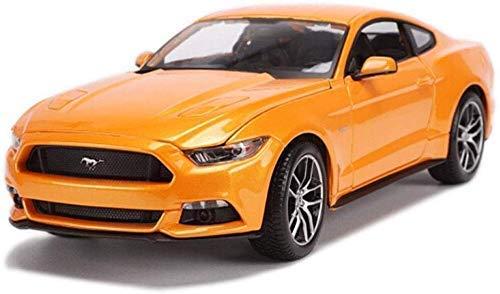 XIUYU Auto-Modell Model Car 01.18 2015 Ford Mustang Auto-Modell-Auto-Legierungs-Auto-Modell-Sammlung Original-Simulation Static Auto-Modell Ferien hsvbkwm