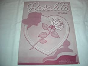 ROSALITA AL DEXTER 1942 SHEET MUSIC SHEET MUSIC 261