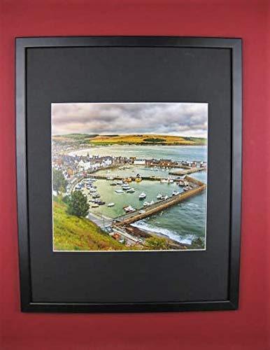 Saward Art G1954-559 Harbour Aberdeenshire - Marco y montado (40 x 50...