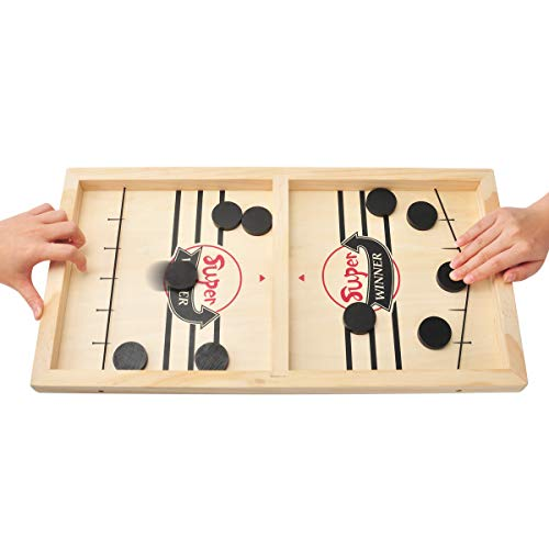 KETIEE Juego de mesa de aprendizaje rápido, juego de mesa, hockey, divertido...