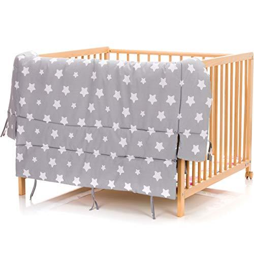 Tapis pour parc bébé - Motif étoiles - 100 x 100 cm ou 75 cm x 100cm - 100 %...