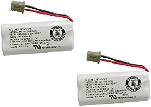 Genuine Uniden Model Bt- 1025 Rechargeable Cordless Handset Phone Battery (2 Pack)