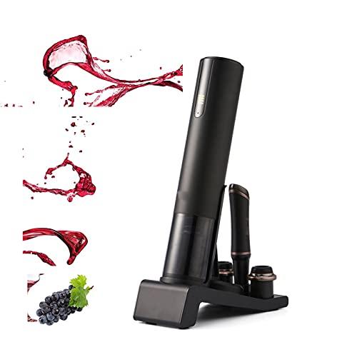 WERCHW Conjunto de abrelatas de vino, camareros amigo sacacorchos abrelatas de botella profesional Sommelier Electric Botella de vino abrelatas de acero inoxidable recargable para el hogar, el restaur