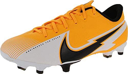 Nike Unisex Future 5.3 Netfit Fg/Ag Jr Football Shoe, Gelb Ultra Yellow Puma Black, 44 EU