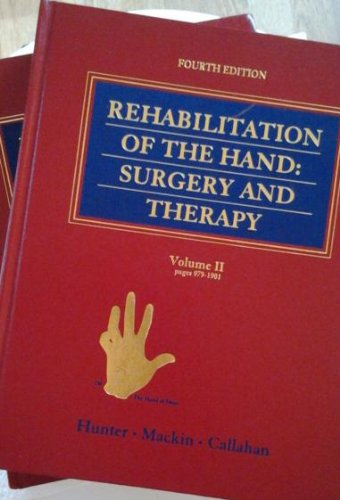 Rehabilitation of the Hand: Surgery and Therapy (2 Volume Set)
