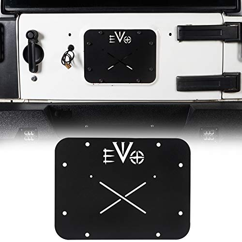 jeep tailgate vent plate - 3