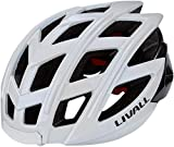 LIVALL BH60SE Musik, Rücklicht, Blinker, Navigation, Anruffunktion und SOS-System Casco de Bicicleta, Unisex Adulto, Blanco, 55-61cm