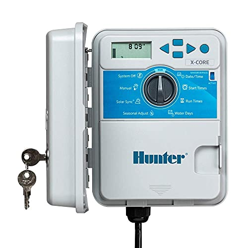 Hunter Sprinkler XC800 X-Core 8-Station Outdoor Controller Timer XC-800 8...