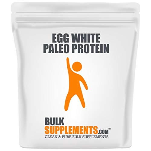 Egg White Paleo Protein Powder by Bulksupplements (1 Kilogram)