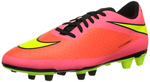 Nike Hypervenom Phade FG - Zapatillas de fútbol para hombre, Rot (Ttl Crimson/Vlt-Hypr Pnch-Blck), 45