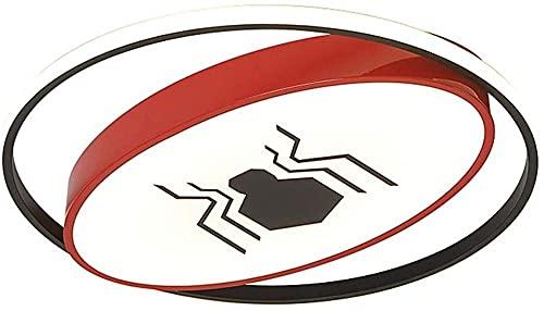 Lámpara de Techo Cámara para niños Panel LED Creativo Instalación rápida Chandelier Batman Spiderman Alta Transmisión Lámpara de Techo Lámpara de Techo para Corredor AIS Evolutions