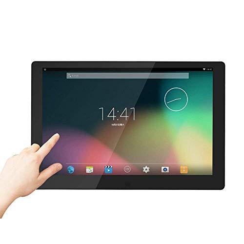FEE-ZC 10,1 tums Wifi Digital fotoram webbversion av elektroniskt fotoalbum Touch LCD-skärm med väckarklocka Bildspel MP3/MP4-spelare Bröllopsgåva, svart