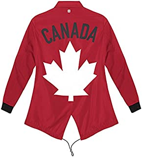 Canada Olympic Women's Spring sport coat jacket MEDIUM NEW