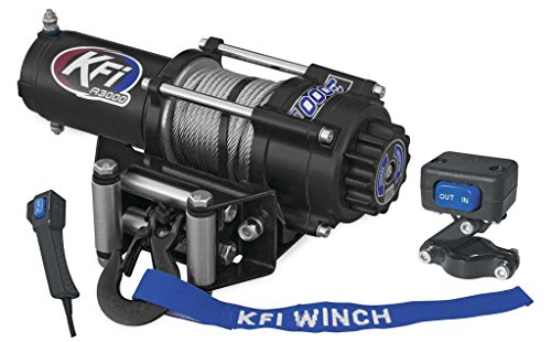 Find Bargain New KFI 3000 lb Winch & Model Specific Mounting Bracket - 2000-2003 Polaris Xpedition 4...