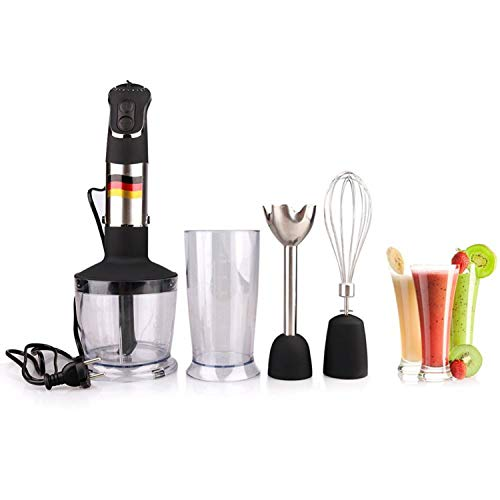 Hand Blender 4 in 1 Portable immersion Blender for Kitchen Food Processor stick with Chopper Whisk Electric Juicer Mixer factory,4 in 1,