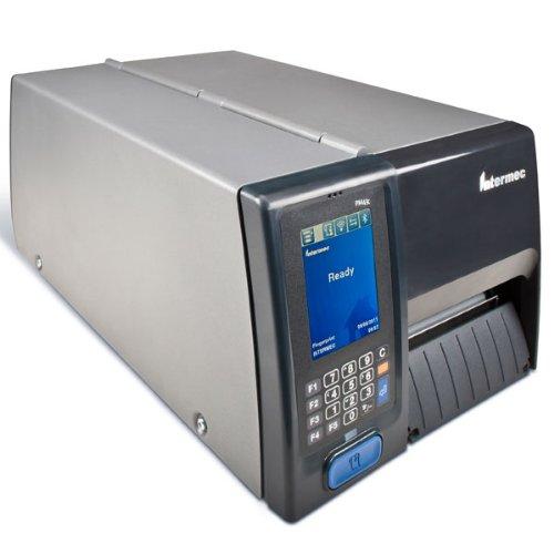 Intermec PM43C–Etikettendrucker (LCD, direkt/Wärmeübertragung, 1d, 2D, grau, 20–80%, seriell)