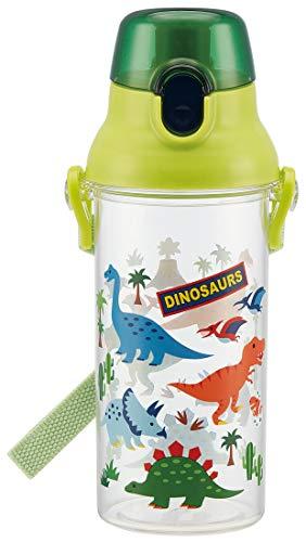 スケーター 子供用 水筒 クリアボトル 480ml ディノサウルス PSB5TR