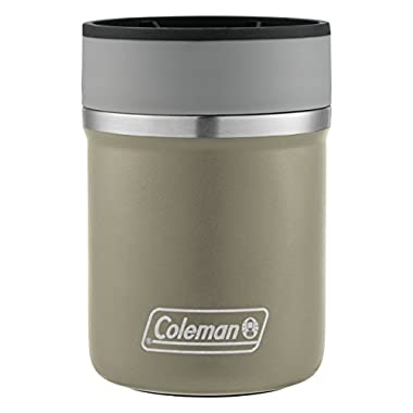 Coleman Lounger Stainless Steel Can Insulator, Sandstone,