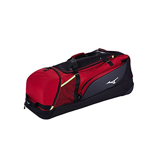 Mizuno 360271.9290.01.0000 Samurai Catcher's Wheel Bag One-Size Charcoal-Black