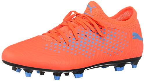 PUMA Future 19.4 - Scarpe da calcio artificiali da uomo, Rosso (Rosso Blast-bleu Azzurro), 45.5 EU