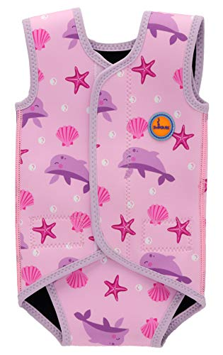 Baddräkt baby simning wrap småbarn neopren kostym pojkar varm kostym flicka UV baddräkt