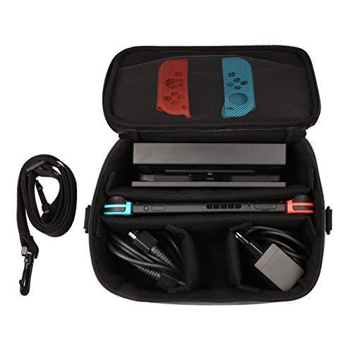 Konix Mythics Lunch Bag Switch - Sacoche Nintendo Switch - Rangement Accessoire Switch pour Transport en Sécurité - Étui Transport Switch et Switch Lite - Housse pour Rangement Switch