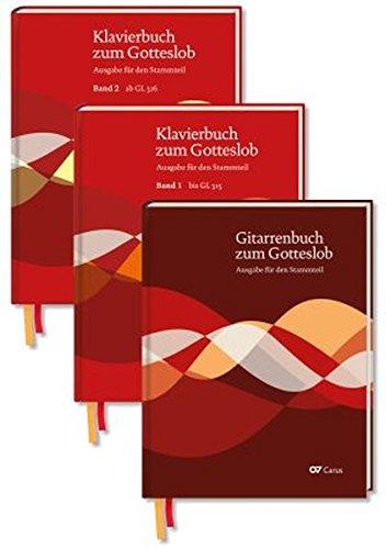 Klavierbuch und Gitarrenbuch zum Gotteslob: Set (Musik zum Gotteslob)