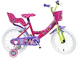 Disney 13128 Minnie-Bicicleta 16'', Multicolore,