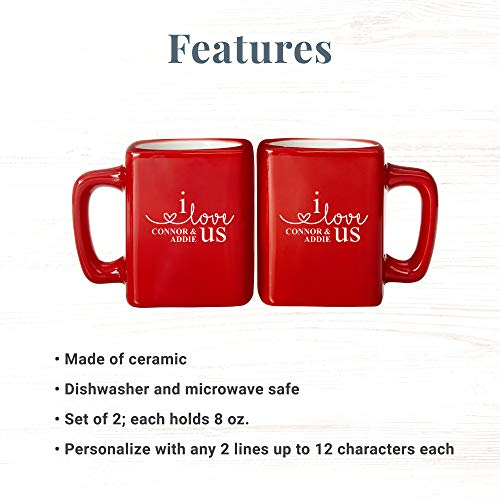 Make Memories Personalized Coffee Mug Set