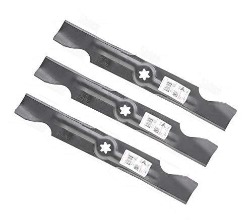 Cuchillas para cortacésped Cub Cadet Zero Turn All Rounder 1050/RZT 50 (3 unidades)