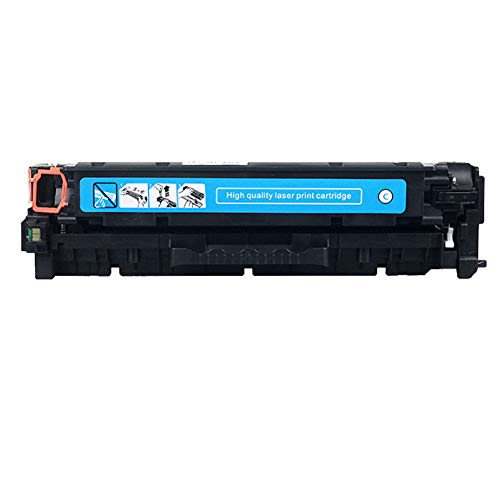 Reemplazo de cartuchos de tóner compatible para HP 305A CE410A CE411A CE412A CE412A para impresora láser HP Color LaserJet M451 M451dn con chips-Blue