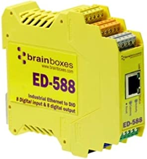 4 Port RS422//485 Ethernet to Serial Adapter 4 Port RS-422//485 Serial Port Tunnelling BRAINBOXES ES-346 Brainboxes ES-346 Ethernet to Serial Device Server