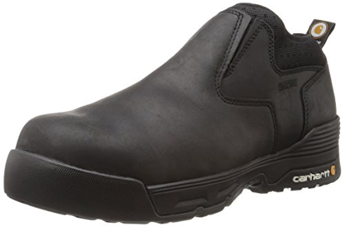 Carhartt Men's Force Romeo-M, Black Coated Leather, 10.5 W US