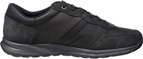 Geox Herren U Damian B Sneaker, Grau (Dk Grey C9002), 40 EU