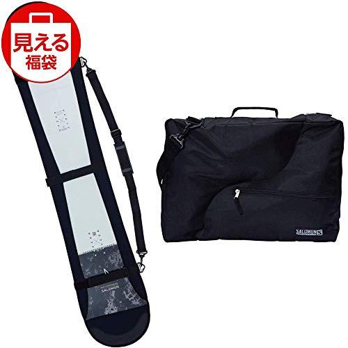 SALOMON(サロモン) スノーボードバッグセット ドライ ブーツ バッグ ブラック & ソールカバーブラック