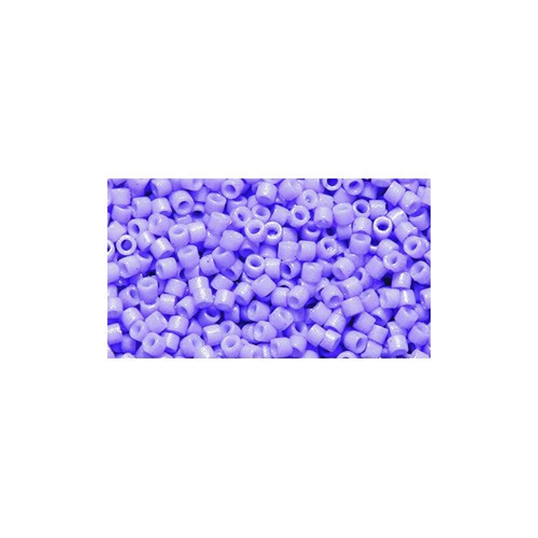 Miyuki Delica Seed Bead 11/0 DB2138, Duracoat Columbine, 9-Gram/Pack