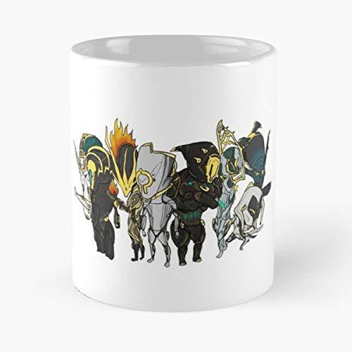 Art - The Best - Taza de café de cerámica de mármol blanco de 11 onzas