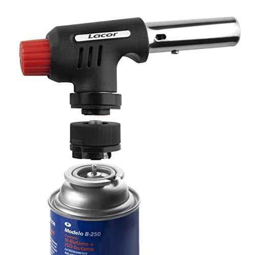 Lacor - 68974 - Cabezal Soplete Gas Profesional + Adaptador