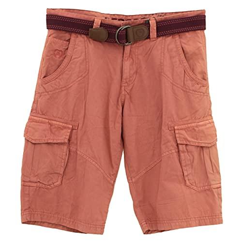 LERROS Herren Bermuda Shorts, Rot (Faded Coral 333), W30