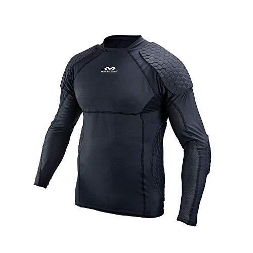McDavid Unisex-Adult Torwart Shirt Extreme Fußball, Schwarz L
