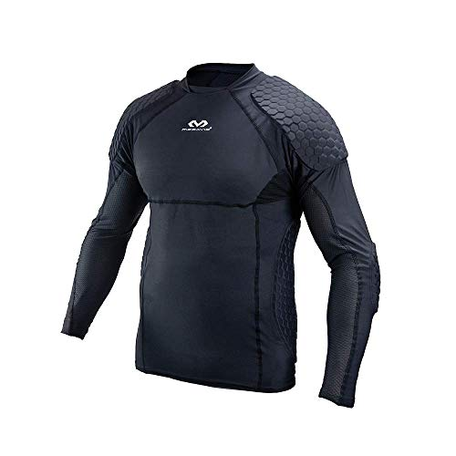 McDavid Unisex-Adult HEX Torwart Shirt Extreme Fußball, Schwarz, XL