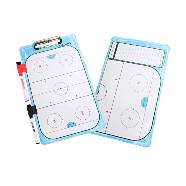 GoSports Coaches Boards – 2 Sided Premium Dry Erase Clipboards – Choose...