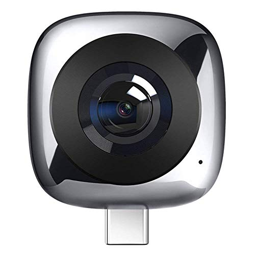 Huawei CV60 Camera panoramica a 360º VR, Bluetooth, Doppio video da 13 MP, Grigio