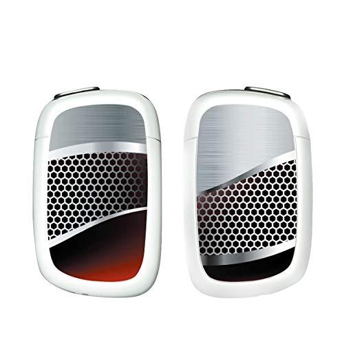 電子たばこ タバコ 煙草 喫煙具 専用スキンシール 対応機種 プルーム テック プルーム エス Ploom S Metal (メタル) イメージデザイン 01 Metal (メタル) 01-pt07-0041