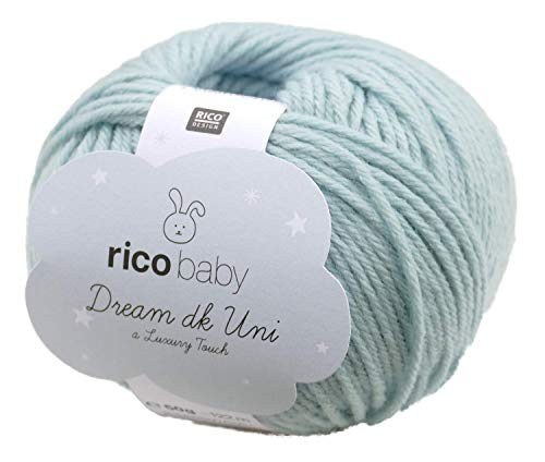 Ovillo de lana de merino 3 x 25 g Camtiac Rico Baby Merino dk