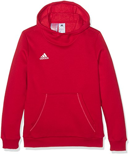 adidas Jungen Kapuzenpulli Core 15 Hoody Youth Kapuzenpullover, Power Red/White, 140