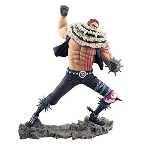 KIJIGHG One Piece Katakuri PVC Action Op Figure Model Anime Figure Figuras de acción Anime Character Model 20Cm