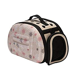 CZWYF Cat and dog bag, portable, easy to travel, bag made of environmentally friendly fabric, safe and reliable, foldable