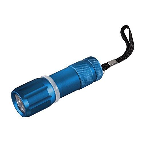 Hama 123118 - Linterna (Linterna de mano, color Coral, Verde, Plata, Turquesa, Aluminio, LED, Micro AAA), 1 unidad, colores surtidos